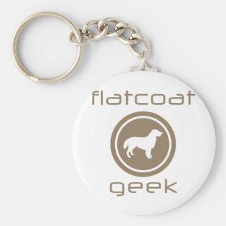 Flat-Coated Retriever Keychains