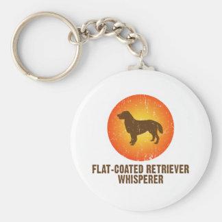 Flat-Coated Retriever Key Chain