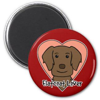 Flat-Coated Retriever Lover Magnet