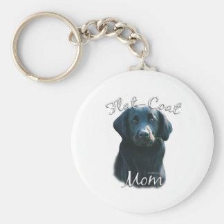 Flat-Coated Retriever Mom 2 Key Chain