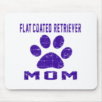 Flat-Coated Retriever Mom Gifts Designs Mouse Pad