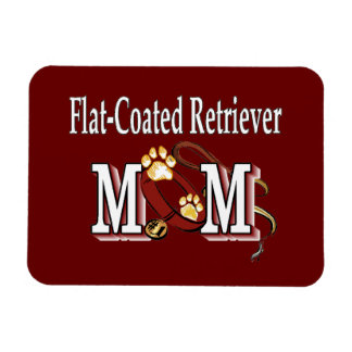 Flat-Coated Retriever Mom Gifts Flexible Magnets