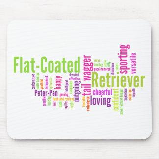 Flat Coated Retriever Mouse Pad