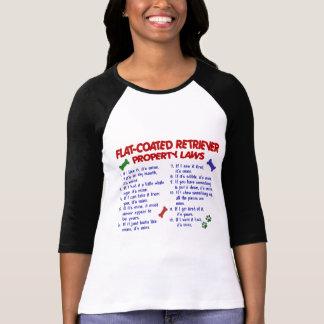 FLAT COATED RETRIEVER Property Laws 2 T-Shirt