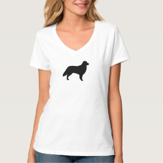 Flat Coated Retriever Silhouette T-Shirt