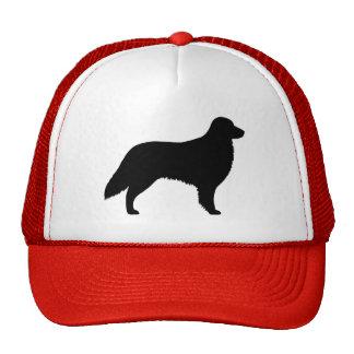 Flat Coated Retriever Silhouette Trucker Hat
