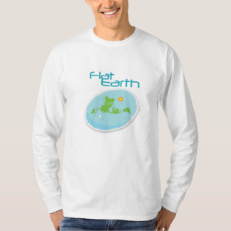 Flat Earth -- Angled 1 T-Shirt
