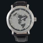 """Flat Earth Design Watch<br><div class=""""desc"""">Flat Earth Design on a watch face.</div>"""