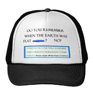 Flat Earth Hat