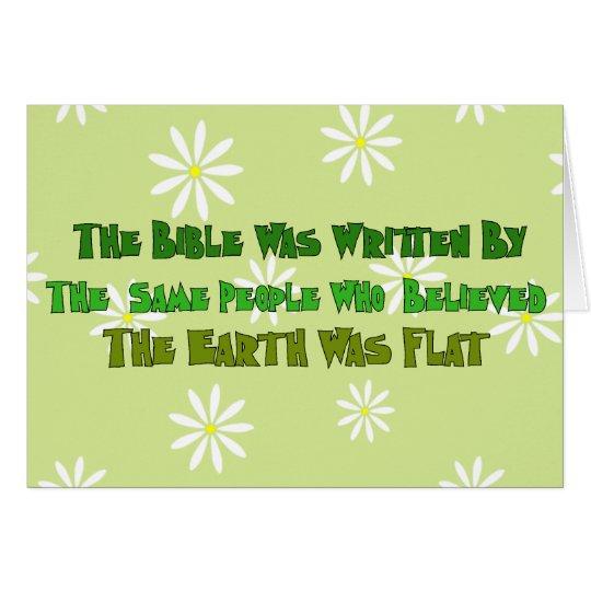 Flat Earth Historians Card