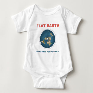 Flat Earth - Lemme Tell You About It Baby Bodysuit