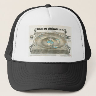 Flat Earth Map Trucker Hat