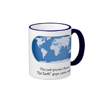 """Flat Earth"" Mug"