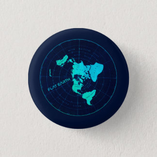 Flat Earth Pin