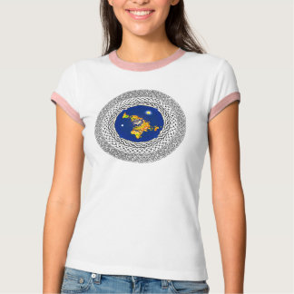 Flat Earth Psalm 37 T-Shirt