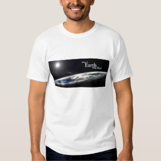 Flat Earth society T-shirt