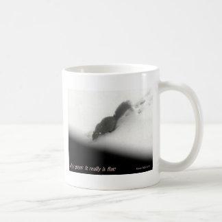 Flat Earth Squirrel Coffee Mug