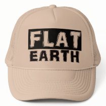 Flat Earth Trucker Cap