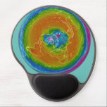 "Flat Earth weather map Gel Mousepad<br><div class=""desc"">Flat Earth weather map Gel Mousepad</div>"