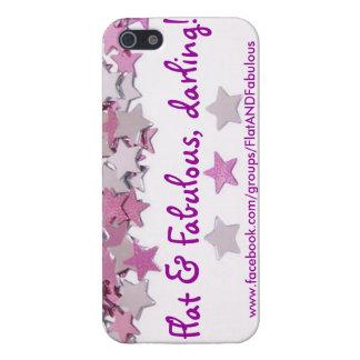 Flat & Fabulous iPhone Case
