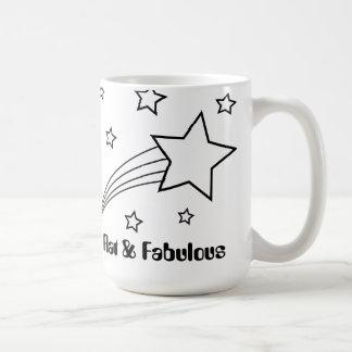Flat & Fabulous mug Basic White Mug