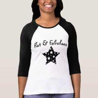 Flat & Fabulous raglan T Shirt