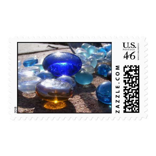 Flat-Glass Marbles Stamp
