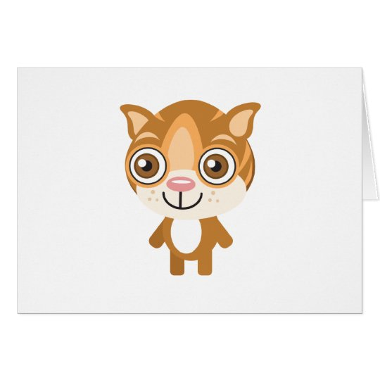Flat Headed Cat - My Conservation Park Card