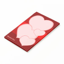Flat Heart Icon Post-it Notes