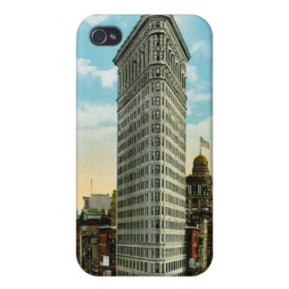 Flat Iron Building. Broadway and Fifth Ave. NYC iPhone 4 Covers