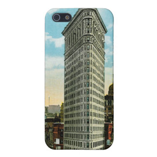 Flat Iron Building. Broadway and Fifth Ave. NYC iPhone 5 Covers