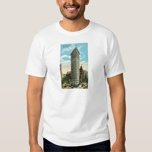 Flat Iron Building. Broadway and Fifth Ave. NYC Shirt