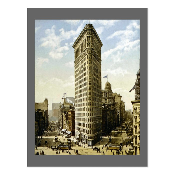 Flat Nyc: Flat Iron Building New York City, NY 1903 Vintage Postcard