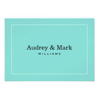 Flat Note Cards | Little Blue Box Theme