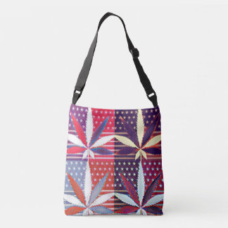 Flat Out American Weed Crossbody Bag