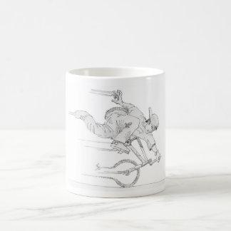 Flat Out Classic White Coffee Mug