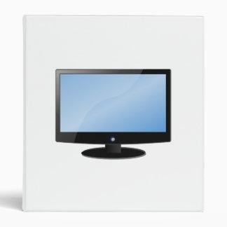 Flat Panel Television Vinyl Binders