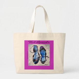 Flat Rascals Large Tote Bag
