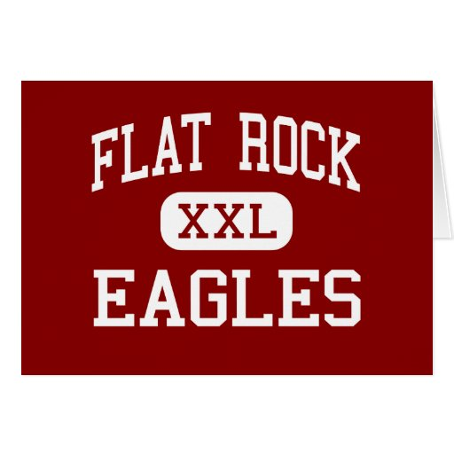 Flat Rock - Eagles - Middle - Tyrone Georgia Greeting Card