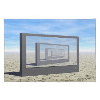 Flat Screen Desert Scene Placemat
