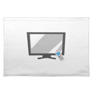 Flat Screen TV Cloth Place Mat
