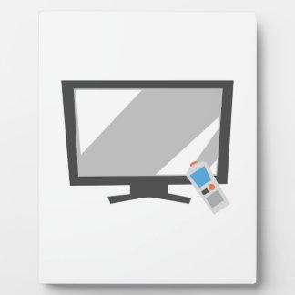 Flat Screen TV Display Plaques