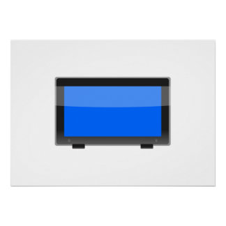 Flat Screen TV Poster