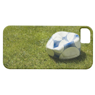 Flat soccer ball in grass, Germany iPhone SE/5/5s Case