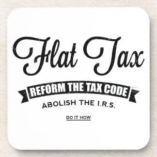 Flat Tax Beverage Coasters