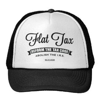 Flat Tax Trucker Hat