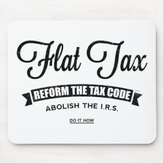 Flat Tax Mouse Pads