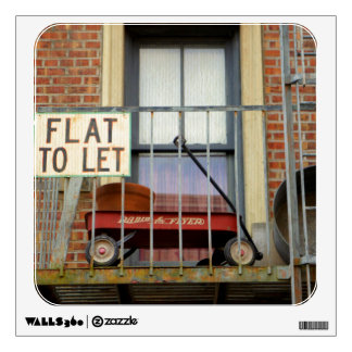 Flat To Let Wall Sticker
