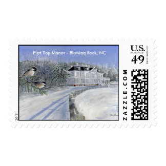 Flat Top Manor - Blowing Rock, NC Postage Stamp
