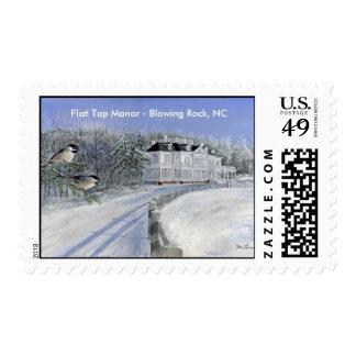 Flat Top Manor - Blowing Rock, NC Postage Stamp